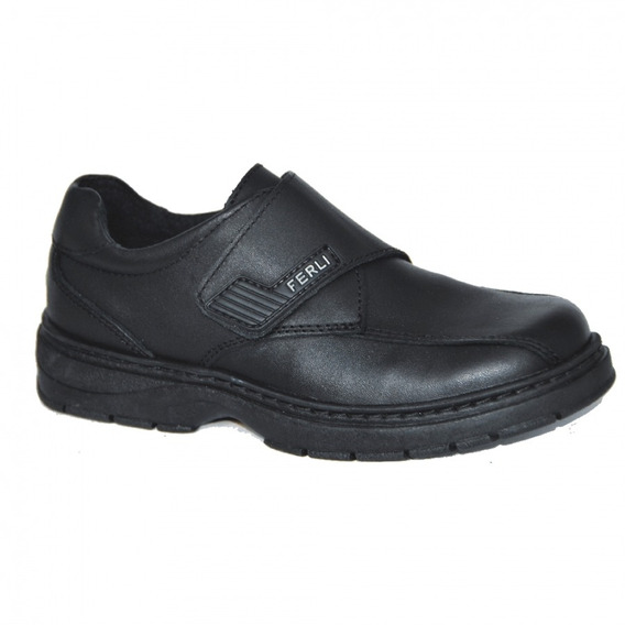 Zapatos Ferli Abotinado Totti Doble Abrojo Escolar