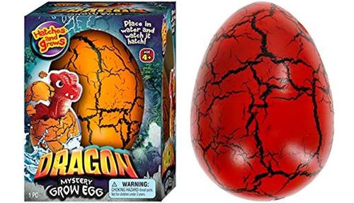 Imagen 1 de 7 de Juguete De Huevo De Pascua Xxl Diseño De Dragón Con Huevos