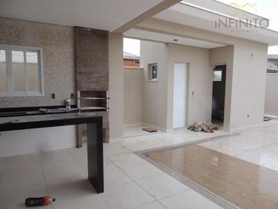 Casa Residencial À Venda, Condomínio Terras Do Fontanário, Paulínia - Ca0629. - Ca0629
