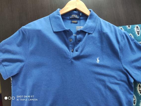 Camiseta Cuello Polo Ralph Lauren Original Talla Gde 2020
