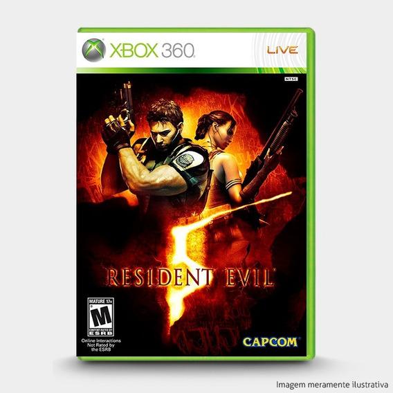 Resident Evil 5 Original Novo Lacrado - Xbox 360