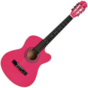 Violão Cutway Eletroacústico Auburn Aubvo626be1 Verniz Pink