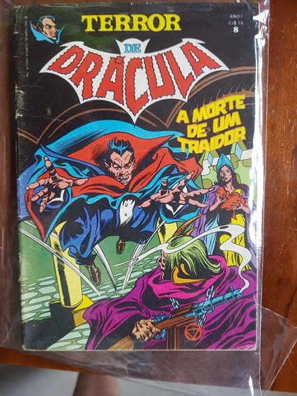 Terror De Drácula Nº 8! Ed. Abril!
