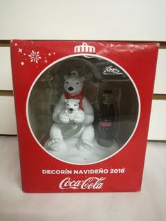 Coca Cola Decorin Navideño 2016 Mama Oso Polar Zero Azucar