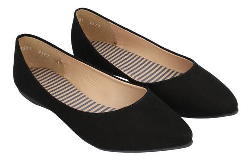 Zapatos Planos Flats Puntal De Mujer C&a (3003705)