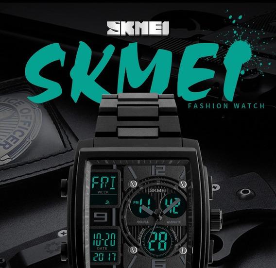 Relógio Skimei Analógico/digital Promoção Relâmpago
