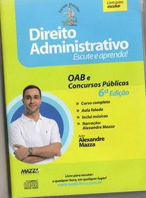 Cd Rom -direito Administrativo - Autor Prof. Alexandre Maz