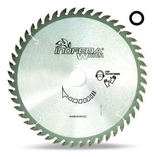 Disco De Serra 150mm 48d 801503 Indfema + Bucha Redução 16mm