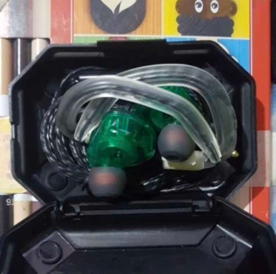 Fone In Ear Qkz Ak6 - Monitor Palco Profissional