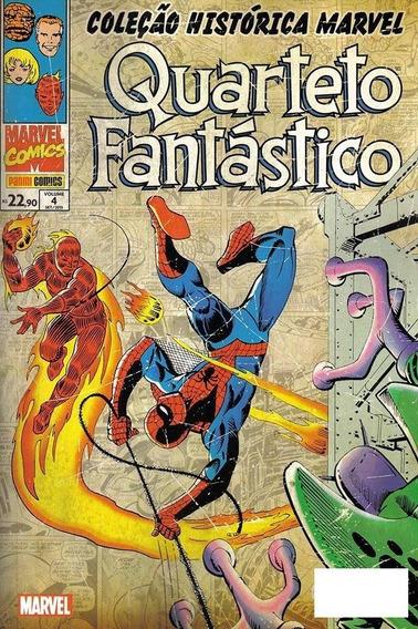 Coleção Histórica Marvel: Quarteto Fantástico #4