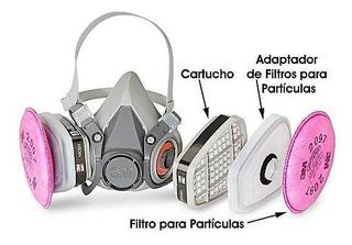 Mascarilla 3m Ultra Proteccion Con Filtro Y Prefiltro Quito