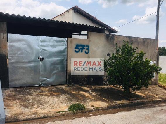 Casa Com 1 Dormitório À Venda, 48 M² Por R$ 130.000 - Jardim Itamarati - Botucatu/sp - Ca0300