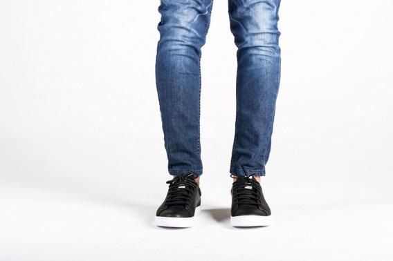 Zapatillas Hombre Urbanas Vestir 100 %cuero Con Forro Vacuno
