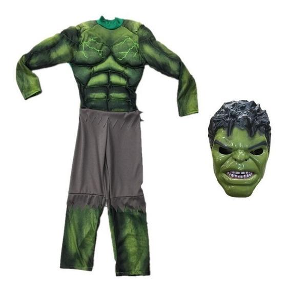 Disfraz Hulk Con Músculos