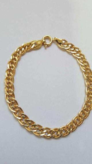 Pulseira Romana Em Ouro 18k750 Com 20 Cm Em 12x Sem Juros