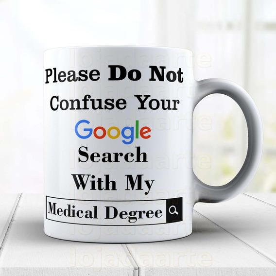 Caneca Medicina, Google Cód: 1241g