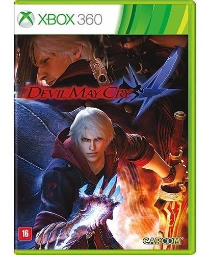 Dmc Devil May Cry 4 Xbox 360 Original Lacrado Mídia Física