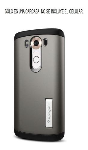 LG V10 Spigen Slim Armor Carcasa Protector Antichoque Case