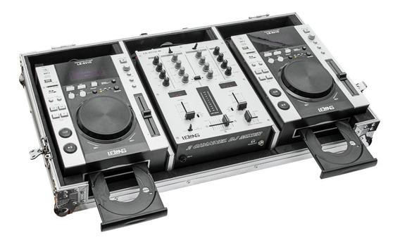 Par Cdj Profissional Lelong Le-931d Com Mixer E Case Top