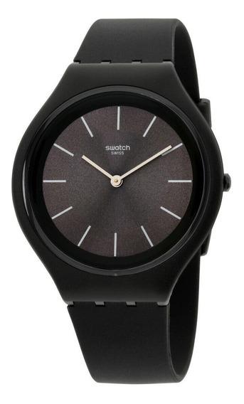 Relógio Masculino Swatch Svub106 Pulseira De Silicone