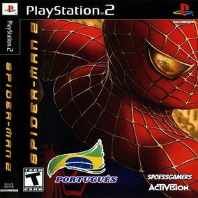 Homem Aranha - Spider-man 2 Ps2 Patch Portugues Infantil