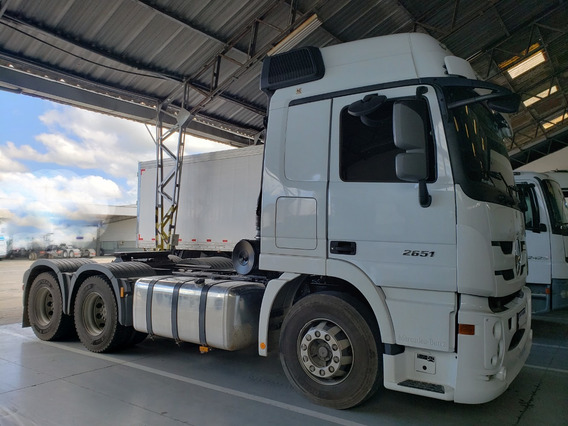 Mb 6x4 Actros 2651 Ano 2019 Com 50 Mil Km= Scania Volvo 540
