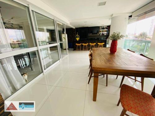 Apartamento Com 3 Dormitórios À Venda, 242 M² Por R$ 2.800.000,00 - Tatuapé - São Paulo/sp - Ap6747