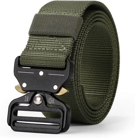 Ajustable Cinturón Táctico Militar Tipo Asalto