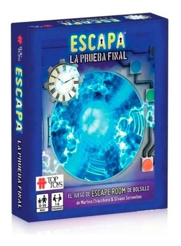 Imagen 1 de 1 de Juego Escapa! La Prueba Final 2300 Top Toys