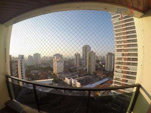 Imagem 1 de 27 de Apartamento Com 3 Dormitórios À Venda, 112 M² Por R$ 830.000,00 - Mooca (zona Leste) - São Paulo/sp - Ap1243