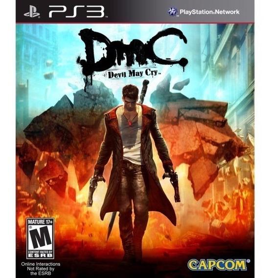 Dmc Devil May Cry Ps3 Midia Digital Legenda Portugues