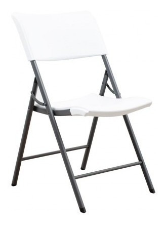 Silla Plegable Lifetime Blanca Silla Plegable Lifeti Tk476