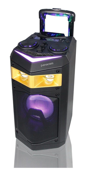 Parlante Portatil Panacom 5000 Pmpo Sp-3416wn