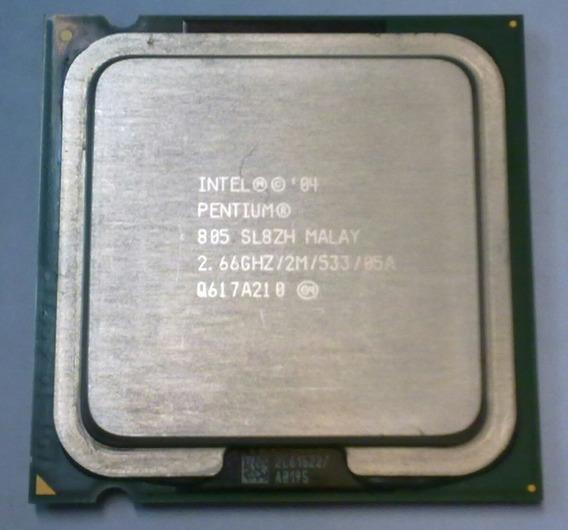 Processador Intel 775 Pentium D 805 2.66ghz 2m Cache 533mhz