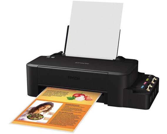 Impressora Epson Ecotank L120 - Colorida / Usb / Bivolt
