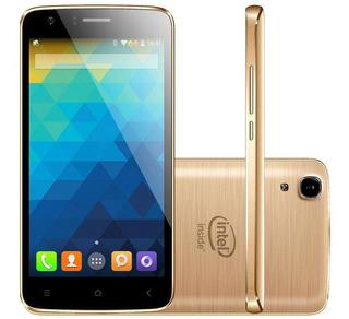 Celular Qbex X Gold W509 Intel Tela 5.0 Dual 16gb 8mp Novo