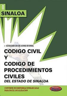 Codigo Civil Y De Procedimientos Civiles De Sinaloa 2018