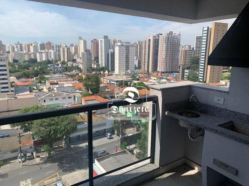 Apartamento Com 3 Dormitórios À Venda, 82 M² Por R$ 584.011,00 - Jardim - Santo André/sp - Ap10731