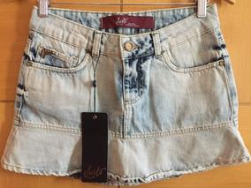 Saia Jeans Ilícito, Saldão De Fabrica - Muito Barato