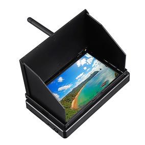 5.8g Lcd 480x22 48ch 4.3 Polegada 16:9 Ntsc/pal Fpv Monitor