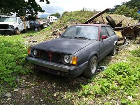 Subaru Hatchback 1986 Para Repuestos, Motor Bueno