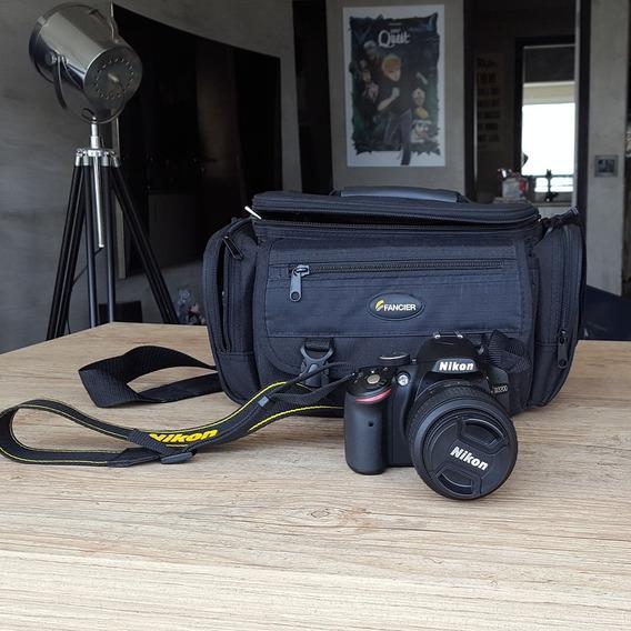 Câmera Nikon D3200 Lente 18-55mm + Grátis Bolsa Bag Fancier