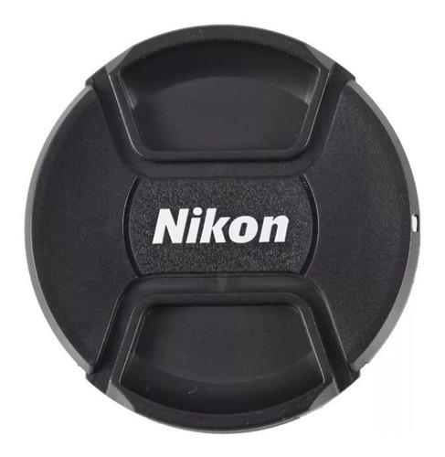 Imagen 1 de 1 de Tapa Nikon Para Lente 58mm Lc-58