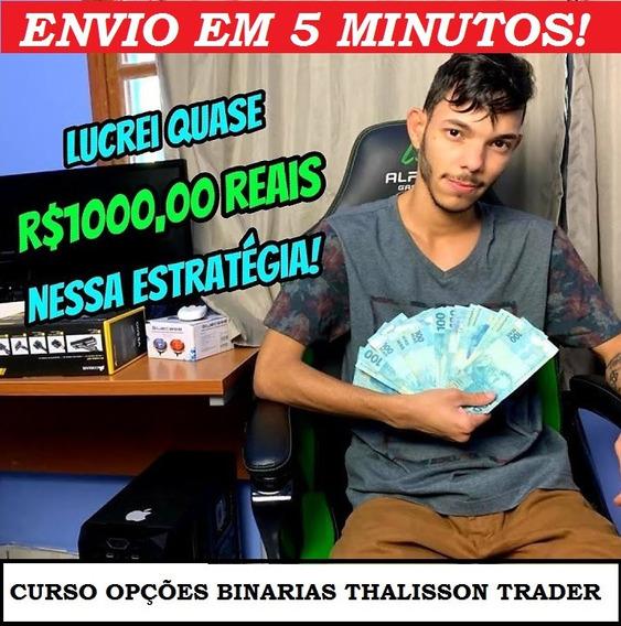 Curso Extreme Binário Talisson Trader - Fabrica De Traders