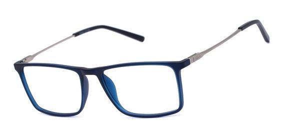 Armação Oculos Ogrife Og 1762-c Masculino Com Lente Sem Grau