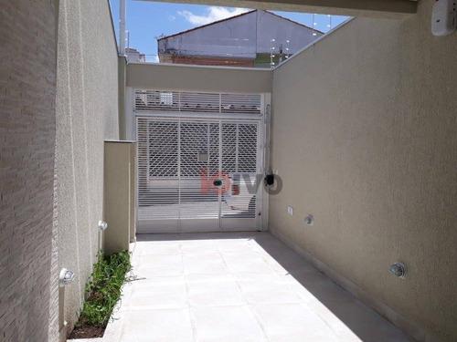 Sobrado 3 Suítes À Venda, 125 M² Úteis R$ 850.000 - Vila Brasílio Machado -sp - So0660