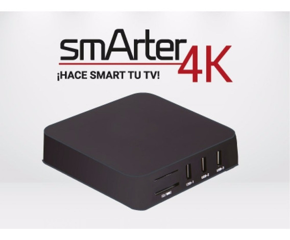 Tv Box Mini Pc Smarter 4k Con Android Smart P/ Netflix