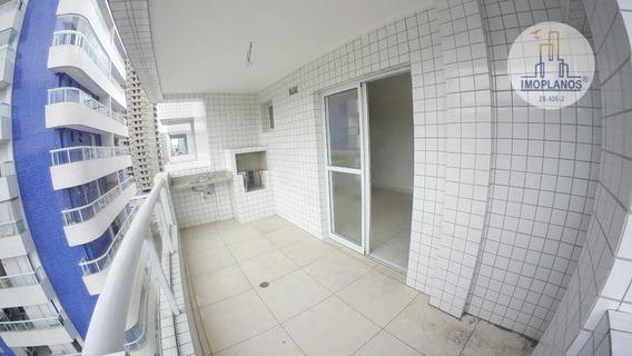 Apartamento Com 1 Dormitório À Venda, 56 M² Por R$ 249.000,00 - Canto Do Forte - Praia Grande/sp - Ap8430