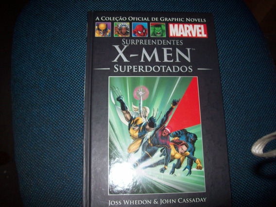 Surpreendentes X- Men Superdotados Marvel