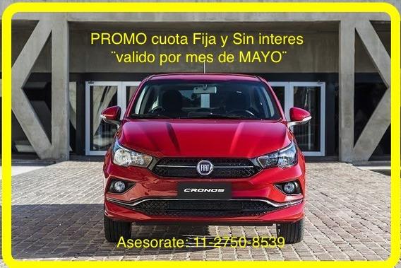 Atencion !! Anticipo $ 70.000 Y Cuotas - Fiat Cronos 2019 -